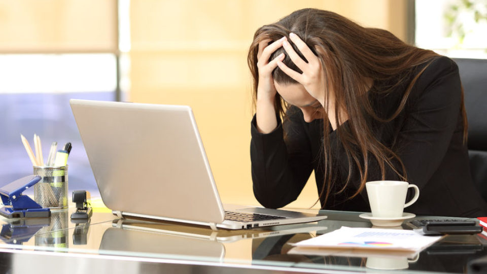 Lavoro Burnout Difficoltà