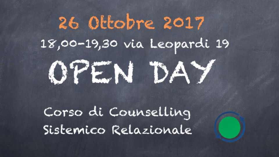open day corso di counselling