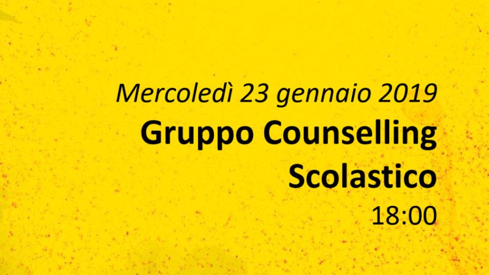 Gruppo Counselling Scolastico
