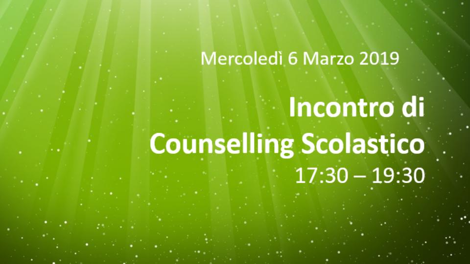 Counselling Scolastico