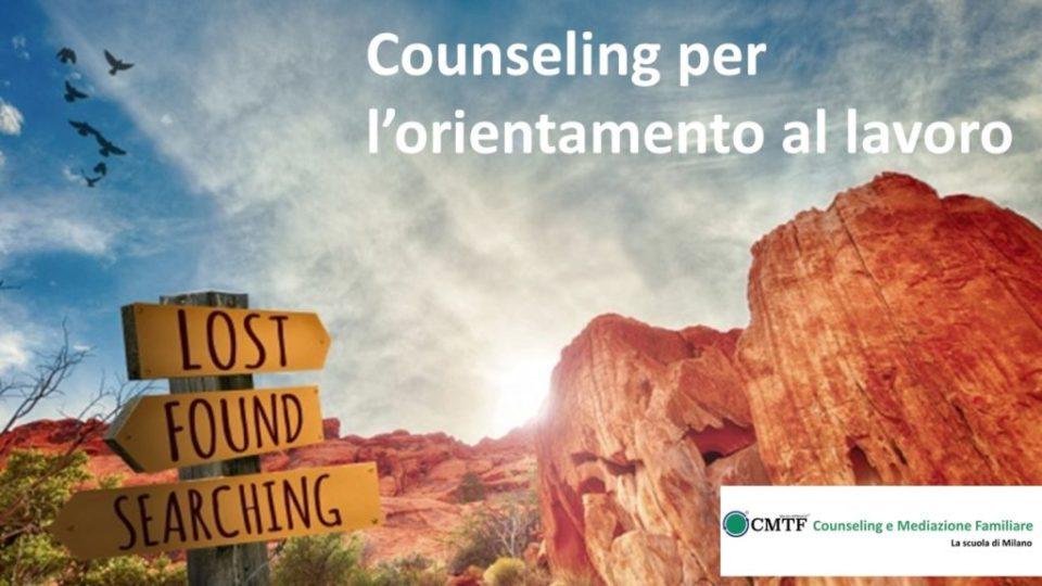 incontro del gruppo di counseling per l'orientamento al lavoro