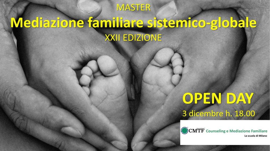– Open Day master mediazione familiare sistemico globale