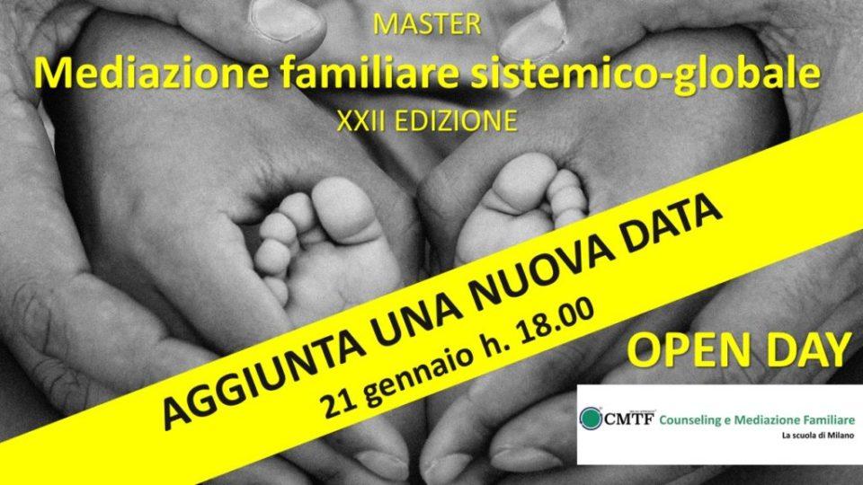 OpenDay Master Mediazione Familiare